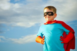 Superpowers of a child's view