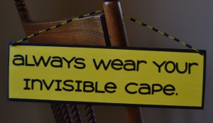 I'm a nurse what's your superpower?  Invisible Cape = Just part of the nursing uniform!